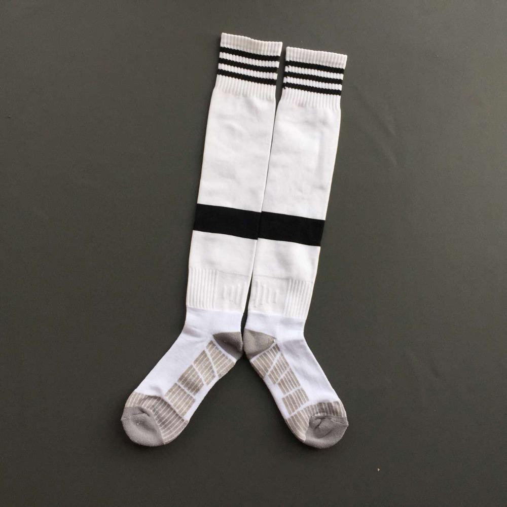 Men's Thai quality original club soccer football socks juventus home white calcetines calze meias chaussettes Socken sokkar(China (Mainland))