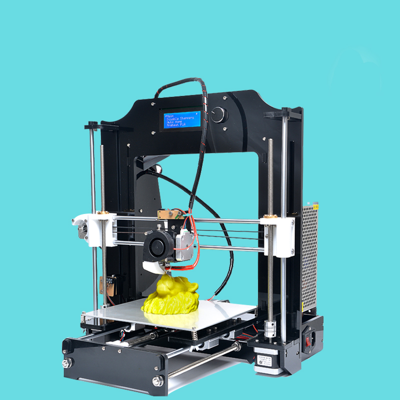 Precision Reprap Prusa HB i3 DIY  Original impressora with 10 meters Filament 8GB SD card for DHL free shipping <br><br>Aliexpress