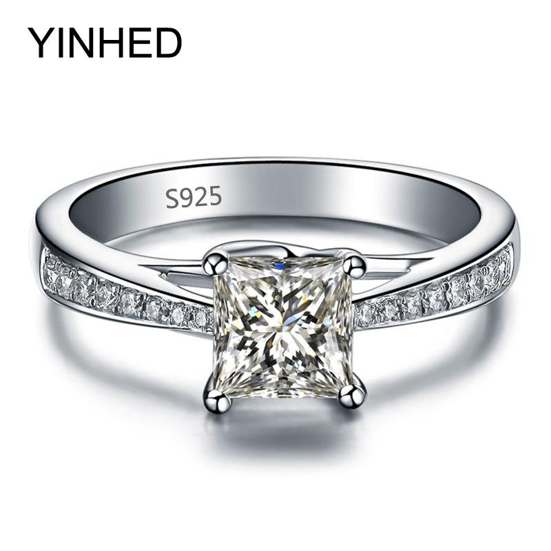 line Get Cheap Princess Cut Engagement Ring Aliexpress