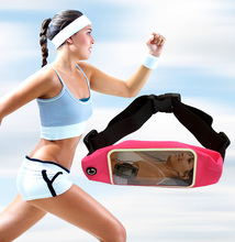 Sport GYM Waist Pack Pouch Waterproof Running Bags Wallet phone Case for for Huawei Y523 Y518 Y6 Pro Y600D Y618 pocket Universal