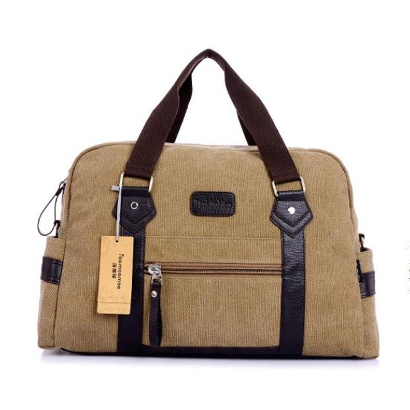 Guaranteed 100% Casual handbag boys bags tote canvas shoulder bag leisure style men's casual canvas shoulder bag messenger bag