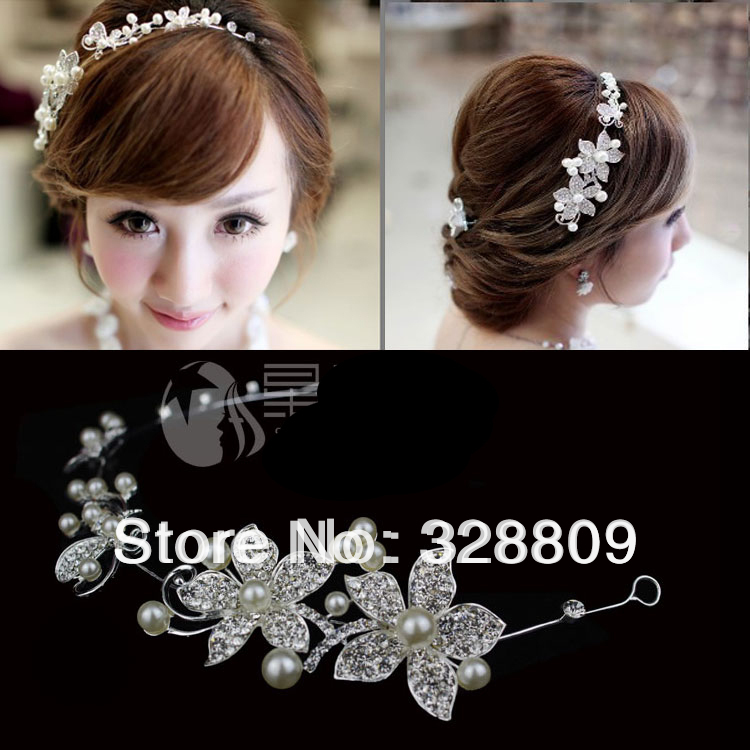 2013 new style rhinestone frontlet clear fashion hairpins