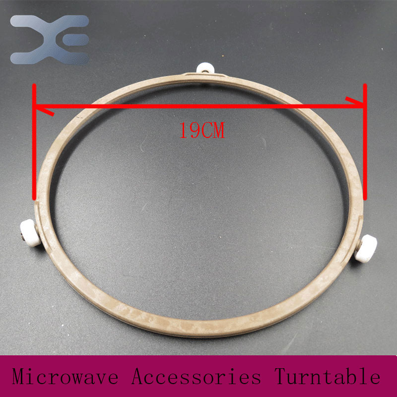 2Pcs Lot Microwave Oven Parts Plastic Round Shaped Rotating Tray Glass Microwave Plate Support High Quality Microwave Oven Parts(China (Mainland))