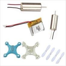 F09189-A 1set Accessories Kit for Drone Cheerson CX-10 4 Channel 2.4G Quadrocopter 4CH