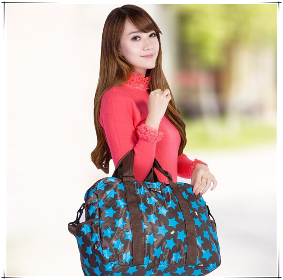 Fast Delivery Polyester Mummy Bag Shoulder Bag Larger Capacity 42*19*32CM Dipper Bag Black,Red,Blue Babies Care Product
