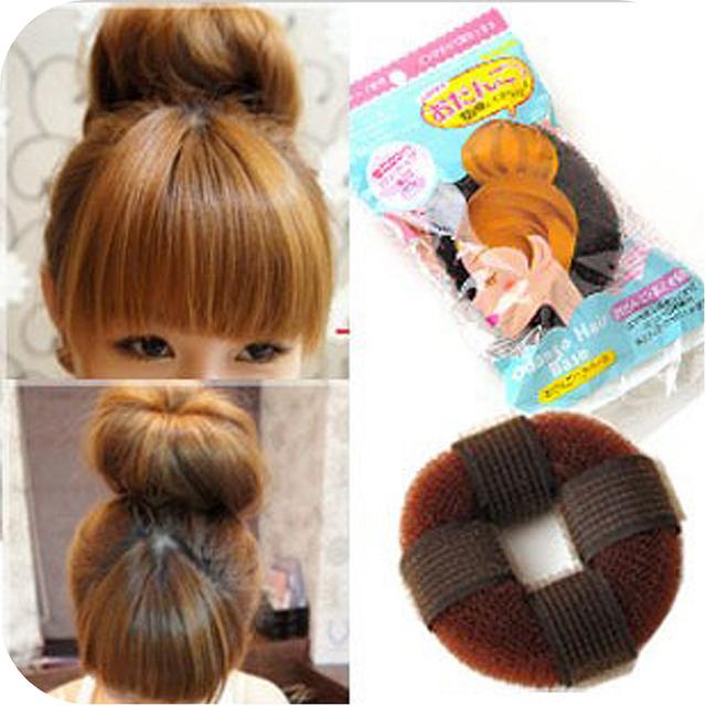 Oh0222 donuts band hair maker meatball head short hair tools