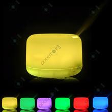 Из светодиодов ультразвуковая эфирные масла ароматерапия диффузор ультразвуковая воздушный увлажнитель-очиститель белый ( 1 пк GT007 )