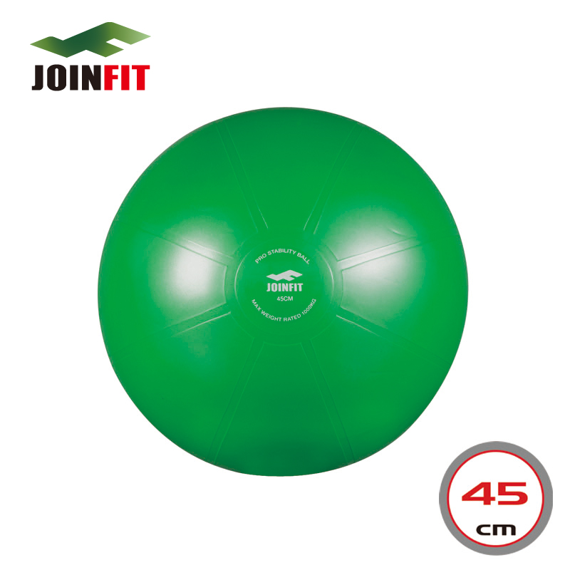 45cm Anti-Burst Swiss Pro Ball/Fitness Ball/Burst Resistant Yoga/Exercise Ball with Pump-Green(China (Mainland))