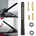 New Sale Delicate Black Fiber Carbon Short Antenna Vehicle Modification Radio Car Aerial Antenna For Cars