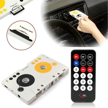 New Vintage Car Tape Cassette SDMMC MP3 Player Adapter Kit With Remote Control For Phone For Tablet PC Hot Sale(China (Mainland))