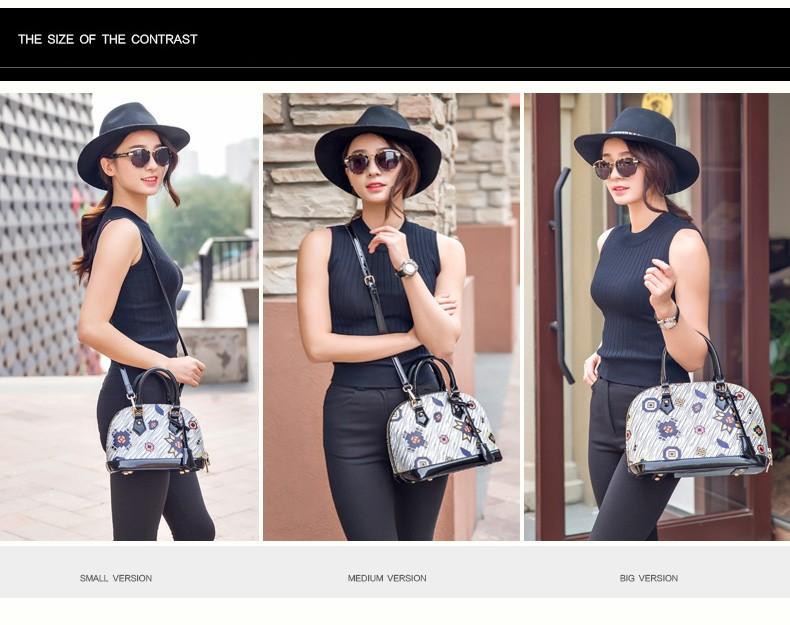 Wave Pattern Stylish Shell Bag Women Designer Ladylike Handbag Trendy Fashion Lady Elegant Small Single Shoulder PU Crossbody