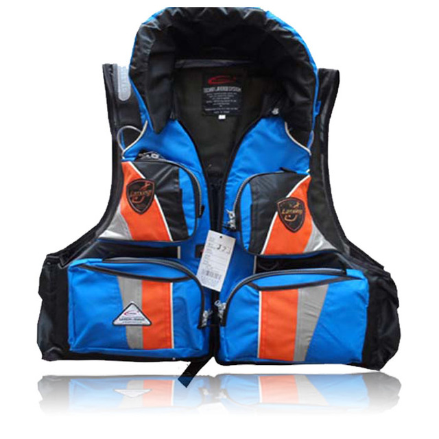 Hot-selling  snorkeling professional fishing life vest multi-pocket life jacket