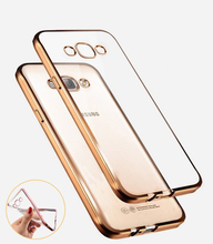 Luxury Style Plating Gilded TPU Soft Silicone Phone Case Cover For Samsung Galaxy A3 A5 A7 2016 J5 J7 Grand Prime S5 S6 S7 Edge(China (Mainland))