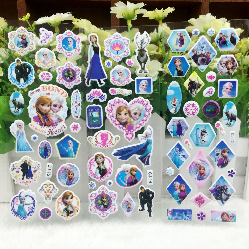 Very Nice Snow White wall stickers,3D Cartoon Cinderella wall stickers,For Kids rooms decor stickers,Kids Birthday Gift stickers