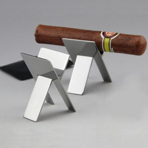 COHIBA Cigar Holder Cigarette Stand Stainless Steel Portable Hot Sale 2015(China (Mainland))