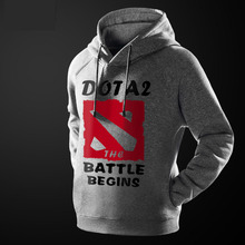 2014 new Mens Fashion cloth Cutton Game Clothing DOTA2 Hoodies Nice Gift 4 Colors & Types(China (Mainland))
