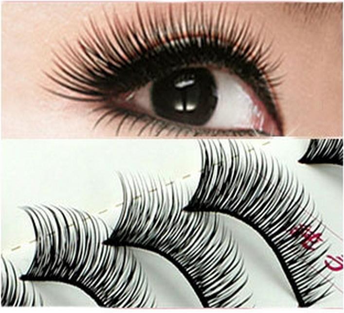 New 10 Pair Thick Volume False Fake Eyelashes Eye Lashes Makeup #169 # 20861(China (Mainland))