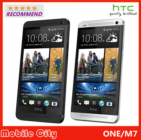 Original Refurbished Unlocked HTC ONE M7 Cell Phone Wifi GPS 4.7'' 2GB RAM 32GB Storage 1.7GHz Android SmartPhone Free Shipping(China (Mainland))