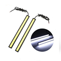 2pcs 17cm drl led daytime running light cob 12V Waterproof external lamp car styling light source