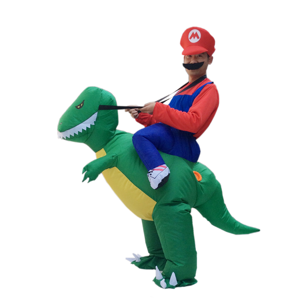 Free Shipping Adult Fancy Dress Suit / Party Halloween Christmas Xmas gift/   Inflatable dinosaur CostumeОдежда и ак�е��уары<br><br><br>Aliexpress