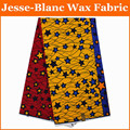 Latest Design Guaranteed dutch wax African super wax Hollandais fabric 6y lot Patchwork Fabric print for