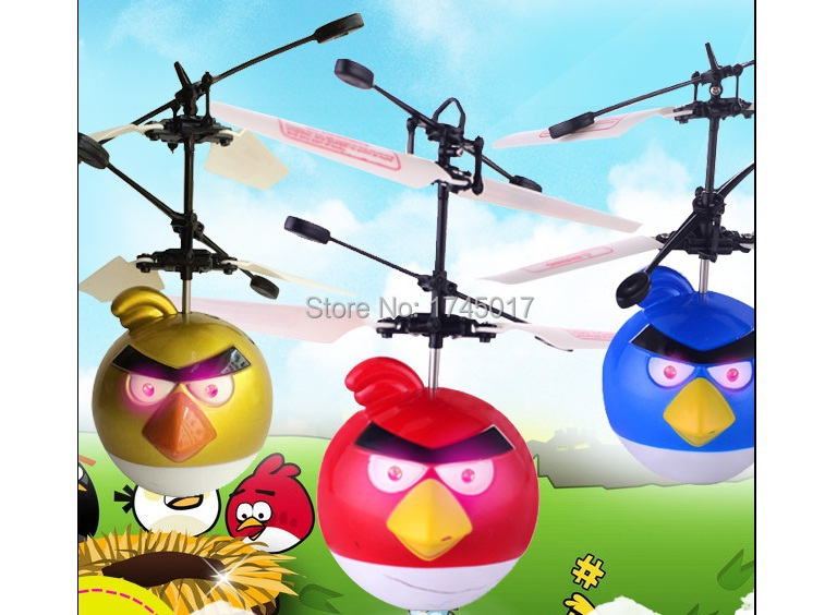 Electronic Toys RC Flying Fly Bird Helicopter UFO Ball Ar.drone For Kids(China (Mainland))