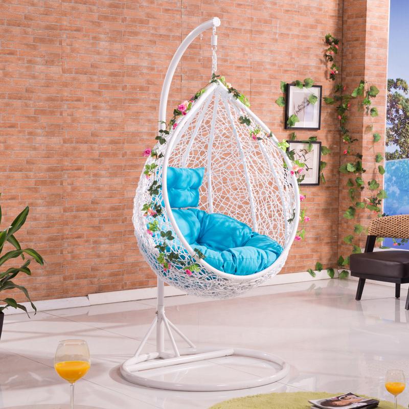 Compra mimbre silla colgante online al por mayor de china for Sillas colgantes interior