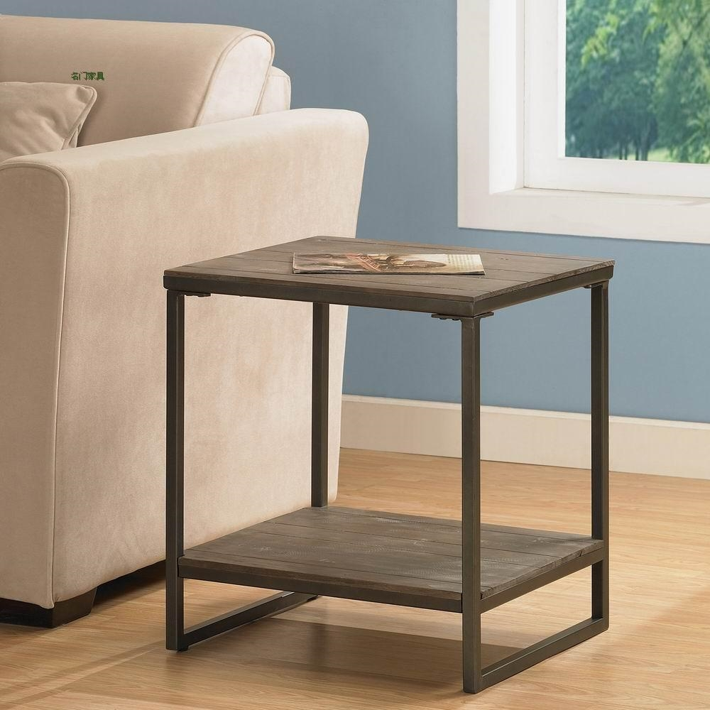 American country antique coffee table living room