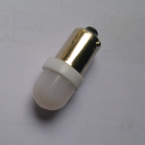 Free shipping ,BA9S 1 SMD 3528,LED bulb AC6.3v For pinball with  Frosted cap<br><br>Aliexpress