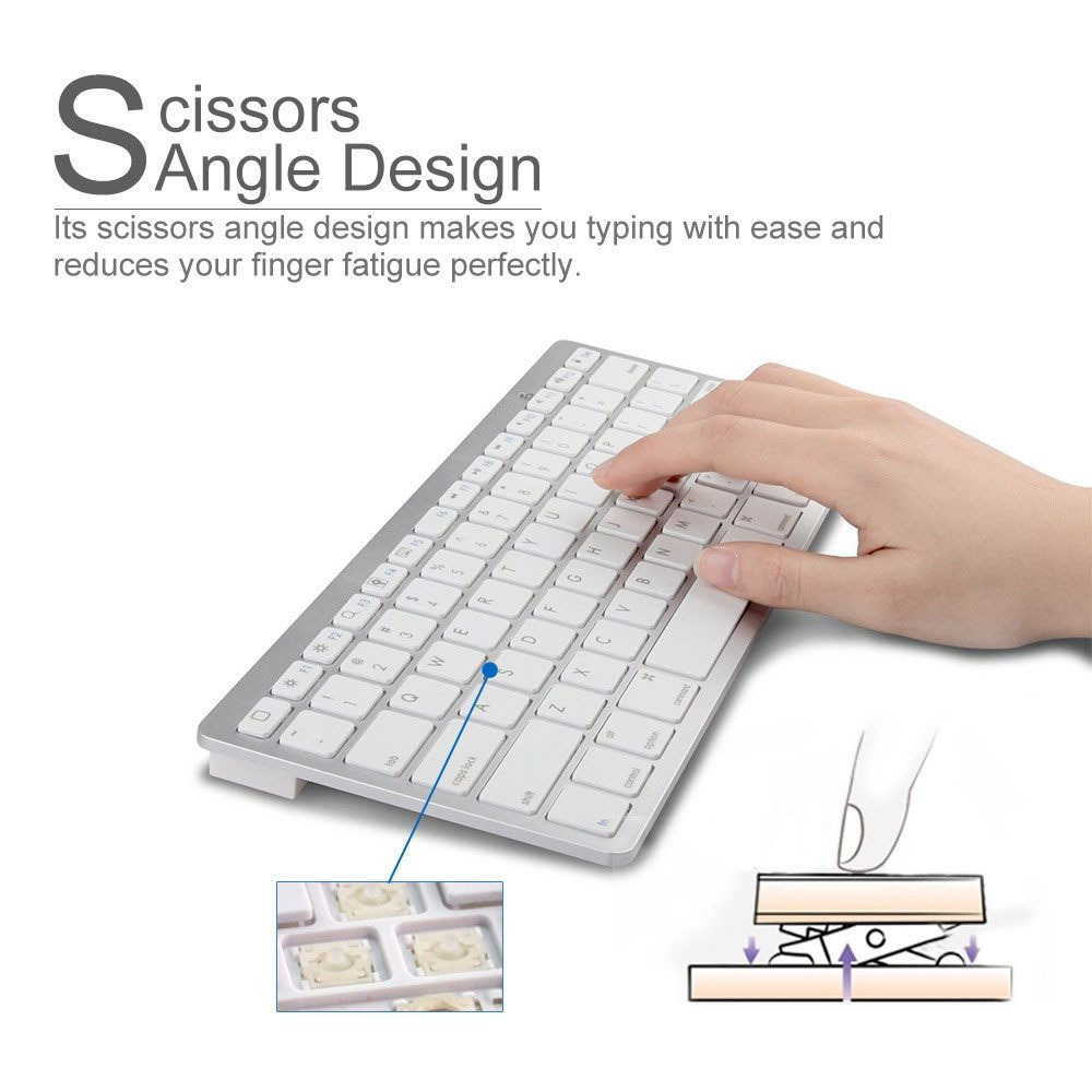 New Arrival wireless computer keyboard Mini Bluetooth Keyboard for android for Mac Book, Samsung Phones and Tablets(China (Mainland))