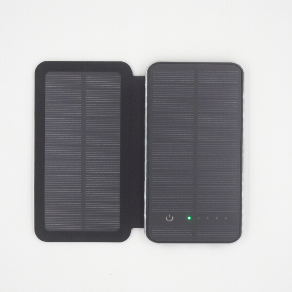 Universal Solar Charger Sun Lights Power Bank External Battery Backup Pack Charging 2x Solar Panels 3W Touchable Free shipping