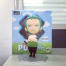 Megahouse Anime One Piece POP Excellent Model Mild Roronoa Zoro Action Figure P.O.P Figuras portrait of pirates Collectibles