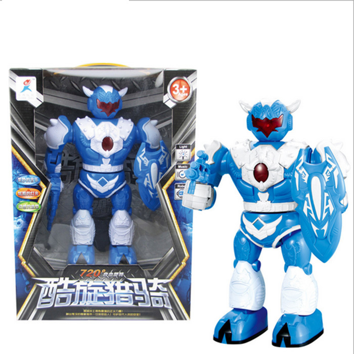 Hot Sale Electric Smart Space Walking Dancing Robot Children's Music Light Toys Kids' Action Toys Figures christmas Holiday Gift(China (Mainland))