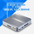 Mini PC I3 4010U I5 4200U I7 4500U 8GB RAM 128GB SSD WIFI Mini Desktop Computer