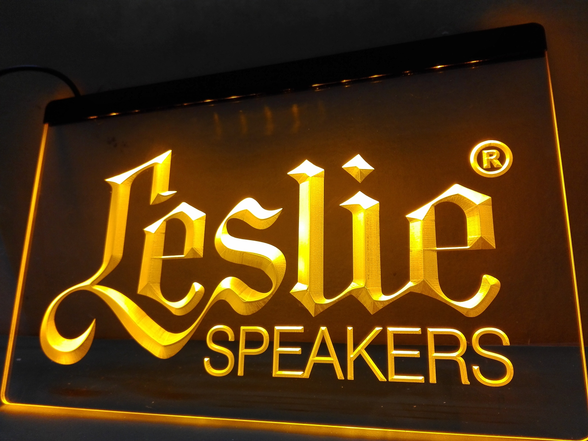 LL044- Leslie Speakers NEW Audio NR LED Neon Light Sign home decor crafts(China (Mainland))