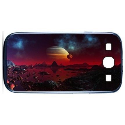 Free Shipping Red Planet Plastic Cell Phone Cases Cover Case For Samsung Galaxy S3 I9300(China (Mainland))