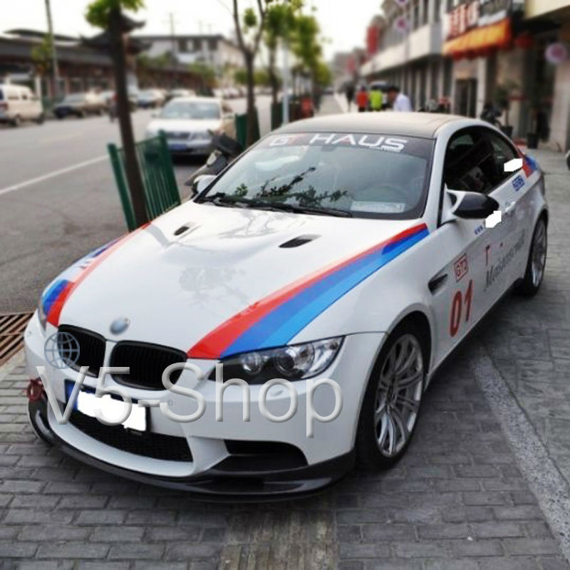 M5 Spoiler Picture More Detailed Picture About 2x 1 5m M Colored Stripe Car Hood 2 Side