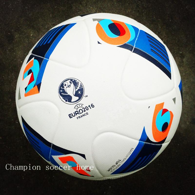 2016 European Championship soccer ball PU size 5 Euro France ball Copa American football Premier high quality for match(China (Mainland))