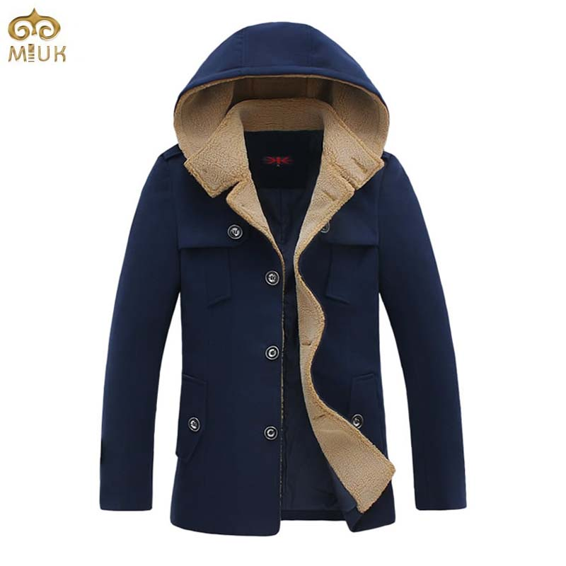 Одежда и аксессуары   Solid Plus Size Hooded Trench Coat Men 5XL 4XL Black Navy Cotton Slim Fit Long Trench Coat Men Luxury Manteau Homme 2015 New