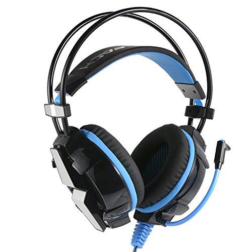 KOTION EACH G7000 Virtual PC Computer Gaming Headphone USB 7.1 Surround Sound Headset w/Mic LED(China (Mainland))