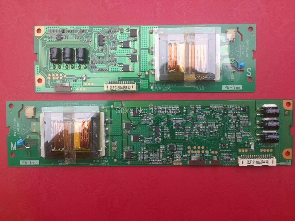 """37 """"LCD TV inverter board LC370WX1 6632L-0314A 6632L-0315A test OK(China (Mainland))"""