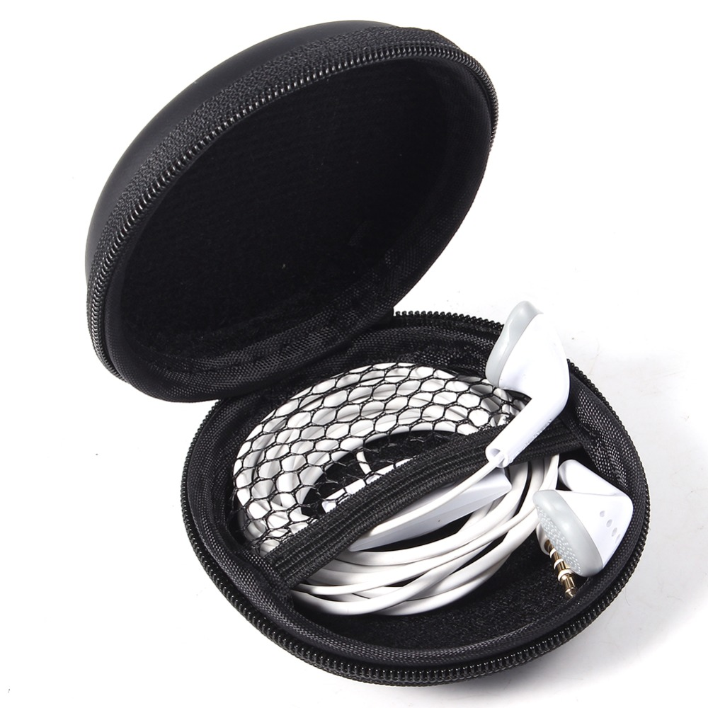 Portable Super Zippered Hard EVA Carrying Case Storage Bag Specially Design For Collecting and Protecting Headphone(China (Mainland))