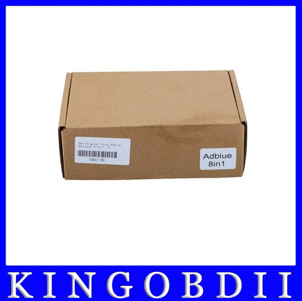 Free DHL professional Adblue emulator 8 in1 box V3.0 trucks MAN,Iveco,Renaut, DAF, Scania support euro 6 with Nox Sensor instock(China (Mainland))