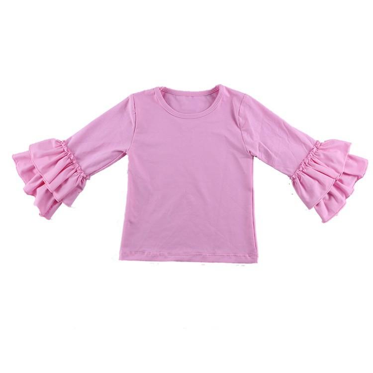 2016 New Real Minecraft Minion Wennikids Solid Cotton Sleeve Ruffle Top,girl T-shirt Children T Shirts Kid Tops Free Shipping  HTB14Z9wHVXXXXbUXVXXq6xXFXXXr