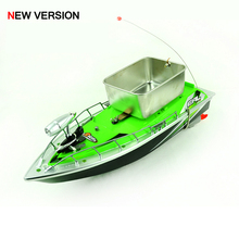 New Mini RC Fishing Boat for Carp Fishing with Bait Throwing Dispenser Over 200m Remote Control Feeder Ship + Free PVA Bag(China (Mainland))