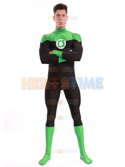 Aliexpress.com : Buy Newest Green Lantern Costume Spandex ...