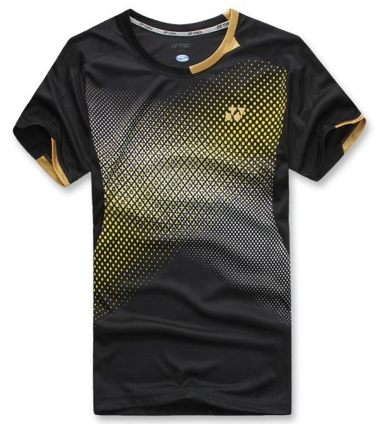 1pc wholesale man dry fast fit table tennis volleyball badminton t-shirt tops sportswear lovers style,2015 fashion free shipping(China (Mainland))