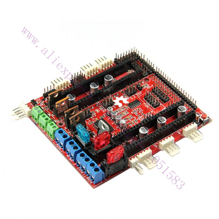 3D dreiver board PCB New Pololu Shield RAMPS-FD DUE printer controller - NARUTO store
