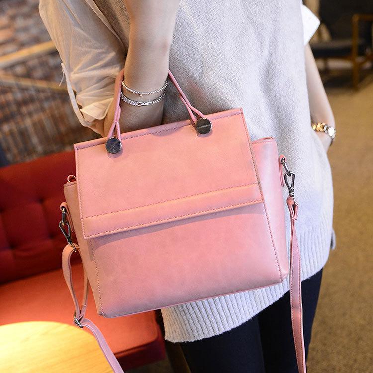 2015 Sale Real Single Women Bolsa Feminina Handbags In 2015, The Korean Version Of Fair Maiden Temperament Simple Portable Bag(China (Mainland))