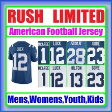 Color Rush Limited Jersey Pat McAfee Andrew Luck Frank Andre Johnson Reggie Wayne Custom Cheap Authentic Sports Jerseys Direct(China (Mainland))
